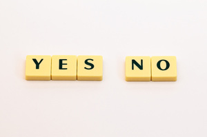 Words: Yes & No