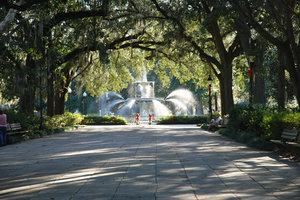 Savannah Forsyth Park Fountain