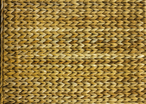 Sisal Weave Texture: The back of a chair