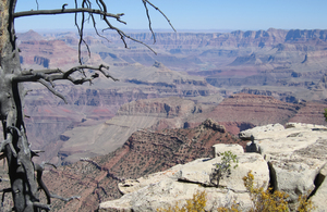 Grand Canyon landscape 3: Grand Canyon showing all it's colours