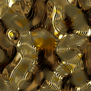 Swirly Metallic Background 2