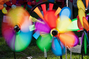 Colorful Windmill Toys