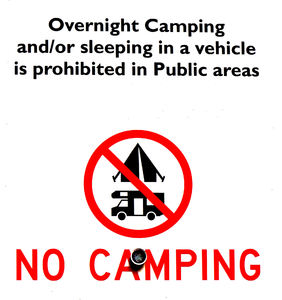 camping prohibited1