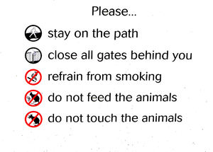 visitor guidelines